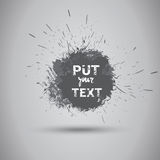 Grunge Texture Background Banner With Copy Space Royalty Free Stock Image