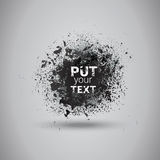 Grunge Texture Background Banner With Copy Space Royalty Free Stock Photo
