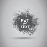 Grunge Texture Background Banner With Copy Space Stock Image