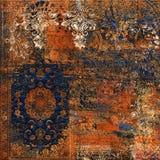 grunge texture background, Digital wall tile design, art floral grunge background vector illustration