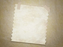 Grunge texture background with old note page. Royalty Free Stock Photo