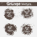 Grunge Texture Background Set Banner Collection With Copy Space Stock Photography