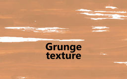 Grunge texture beige. For your design. Vector Royalty Free Stock Images