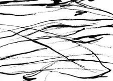 Grunge texture. Black strips on white paper. Grunge background Stock Image