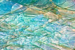 Grunge texture of broken glass Royalty Free Stock Photography