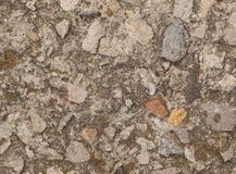 Grunge texture with cement and stones Royalty Free Stock Photos