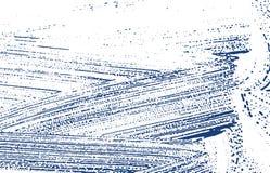 Grunge texture. Distress indigo rough trace. Ecsta. Tic background. Noise dirty grunge texture. Pleasing artistic surface. Vector illustration stock illustration