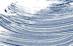 Grunge texture. Distress indigo rough trace. Ecsta. Tic background. Noise dirty grunge texture. Astonishing artistic surface. Vector illustration stock illustration