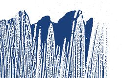 Grunge texture. Distress indigo rough trace. Elega. Nt background. Noise dirty grunge texture. Ravishing artistic surface. Vector illustration stock illustration