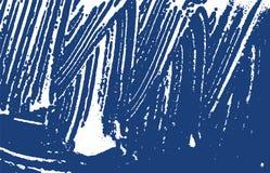 Grunge texture. Distress indigo rough trace. Elegant background. Noise dirty grunge texture. Temptin. G artistic surface. Vector illustration stock illustration