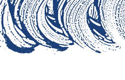 Grunge texture. Distress indigo rough trace. Emoti. Onal background. Noise dirty grunge texture. Fetching artistic surface. Vector illustration royalty free illustration
