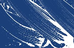 Grunge texture. Distress indigo rough trace. Energ. Etic background. Noise dirty grunge texture. Rare artistic surface. Vector illustration stock illustration