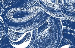 Grunge texture. Distress indigo rough trace. Exceptional background. Noise dirty grunge texture. Maj. Estic artistic surface. Vector illustration stock illustration