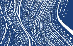 Grunge texture. Distress indigo rough trace. Exquisite background. Noise dirty grunge texture. Fresh. Artistic surface. Vector illustration royalty free illustration