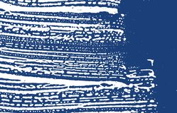 Grunge texture. Distress indigo rough trace. Extra. Background. Noise dirty grunge texture. Alive artistic surface. Vector illustration royalty free illustration