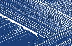 Grunge texture. Distress indigo rough trace. Extra. Ordinary background. Noise dirty grunge texture. Astonishing artistic surface. Vector illustration royalty free illustration