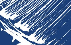 Grunge texture. Distress indigo rough trace. Extraordinary background. Noise dirty grunge texture. A. Ppealing artistic surface. Vector illustration stock illustration