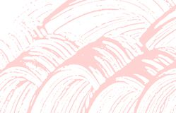 Grunge texture. Distress pink rough trace. Fair background. Noise dirty grunge texture. Breathtaking. Artistic surface. Vector illustration royalty free illustration