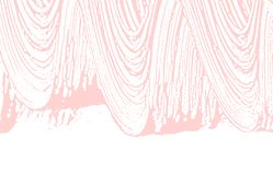 Grunge texture. Distress pink rough trace. Fancy b stock illustration