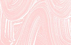 Grunge texture. Distress pink rough trace. Good-lo stock illustration