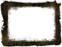 Grunge texture Frame Stock Images