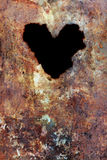 Grunge texture with heart Stock Images