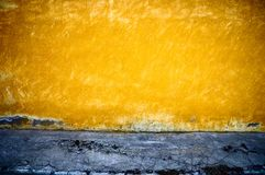 Grunge texture horizontal. It is yellow - a dark blue background in style grunge Royalty Free Stock Image