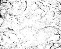 Grunge texture with overlay option. Vector monochrome texture. royalty free illustration
