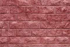Grunge texture of red brick wall Stock Image