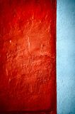Grunge texture red vertical Stock Photography