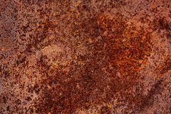 Grunge texture of rusty metal Stock Photography
