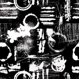 Grunge Texture Seamless Pattern Royalty Free Stock Image