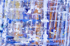 Grunge texture of shabby paint Royalty Free Stock Photo