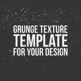 Grunge Texture Template for Your Design Stock Photography