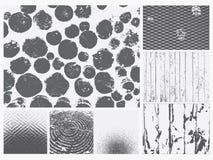 Grunge Texture Vector Set. Stock Image