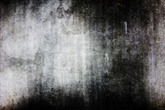 Grunge texture, wall background, vignette Stock Images