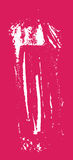 Grunge texture. White brush on pink. Vector template. Urban Background. Royalty Free Stock Photography