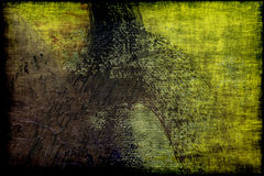 Grunge textured abstract canvas stock image