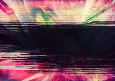 Grunge textured abstract digital background Stock Image