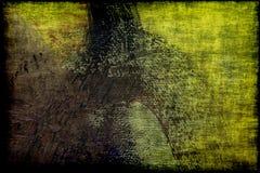 Grunge textured abstrakcjonistyczną kanwę Obraz Stock