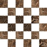 Grunge textured abstrakcjonistyczny w kratkę bezszwowy wzór Obraz Stock