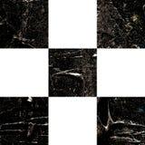 Grunge textured abstrakcjonistyczny w kratkę wzór Fotografia Stock