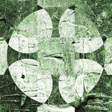 Grunge textured abstrakcjonistyczny w kratkę wzór Zdjęcie Royalty Free
