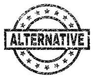 Grunge Textured alternatywa znaczka foka ilustracji