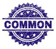 Grunge Textured błonie znaczka foka ilustracji
