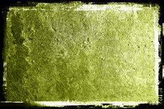 Grunge textured Background. With Border stock image