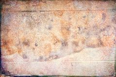 Grunge Textured Background of an Old Cement Wall Royalty Free Stock Photos