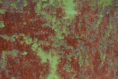 Grunge textured background. Old Rusted metal plate Stock Image