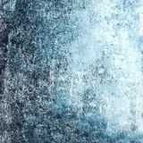 Grunge Textured background with scratches  for your design. Blue Royalty Free Stock Photography