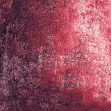 Grunge Textured background with scratches  for your design. Red Stock Images